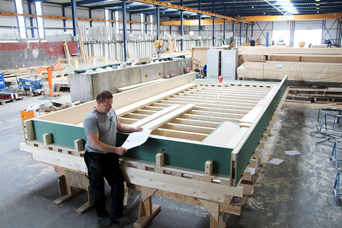Betonvorm maken